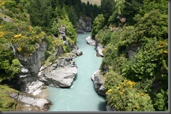 Shotover River 1st Canyon - Normal Conditions