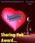 Award Persahabatan dari Maya Sari Tanjung