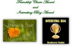 Friendship Chain Award and Interesting Blog Award dari Hartohadi dot com