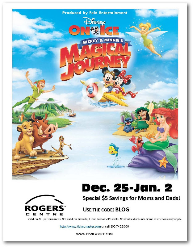 disney on ice mickey magical journey discount code toronto