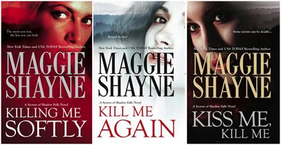 Maggie shayne SF series