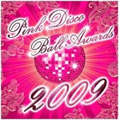 Pink disco ball awards 2009 2