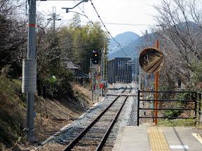 加古川線西脇市駅遠方信号
