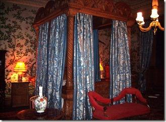 Замок Пенрин, спальня