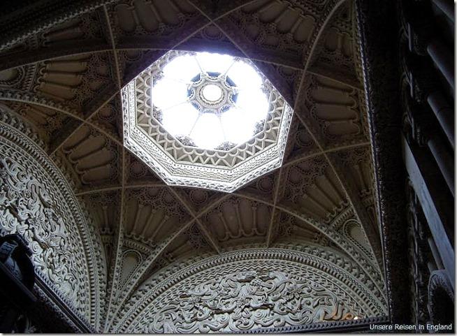 Замок Пенрин, парадная лестница