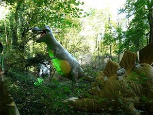 Поляна динозавров