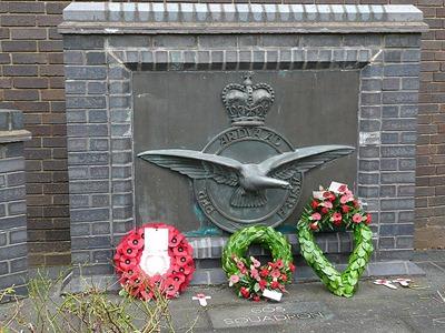 Монумент в память о 605 эскадроне