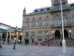 Честер, ратушная площадь