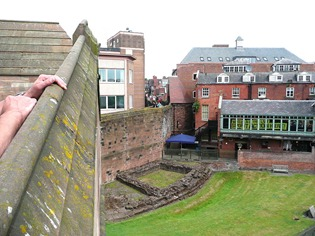 Честер, вид с городской стены