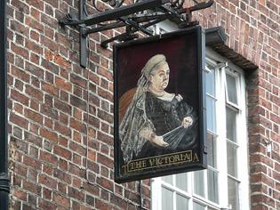 Честер. Портрет королевы Виктории.