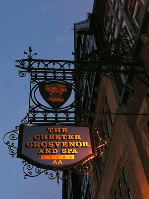 Честер, гостиница Гросвенор
