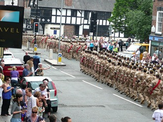 Chester, Freedom of the City