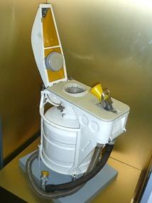 National Space Centre, космический туалет