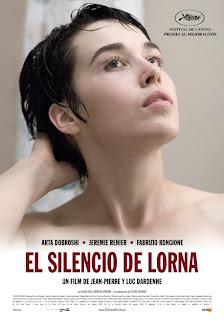 El silencio de Lorna Poster