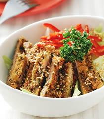 美食食譜-日式涼拌豬排