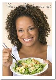 Alimentação e saúde do cabelo