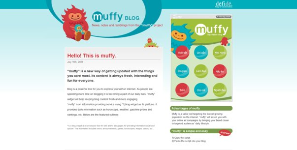 Muffy is a new information service provider
