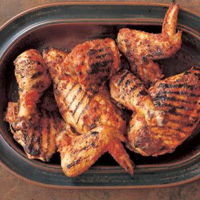 Harissa-Marinated Grilled Chicken
