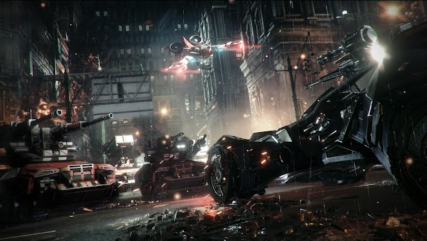 Batman: Arkham Knight's Batmobile Battle Mode revealed