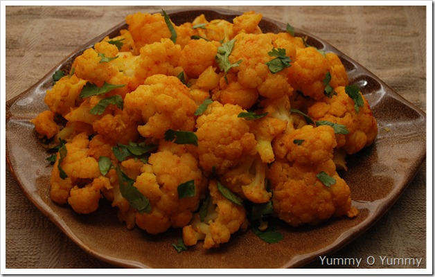 Cauliflower fry