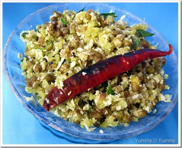 Chena thandu - cherupayar thoran