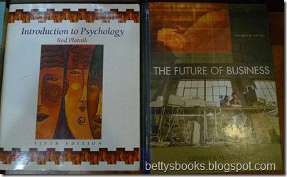 Textbooks 3 RM20