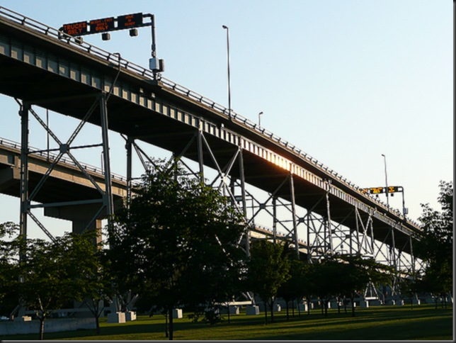 Bluewater bridge