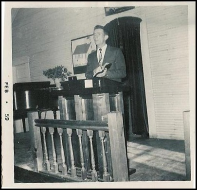 daddy's preaching at jessieville 59
