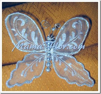Gancho en Forma de Una Mariposa