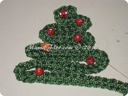 Arbol Tejido a Crochet
