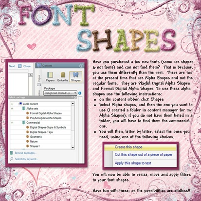 Font Shapes - Page 032