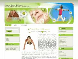 Health Fitness and Beauty Theme