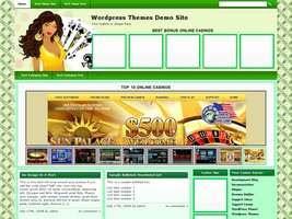 Online Casino Template 507