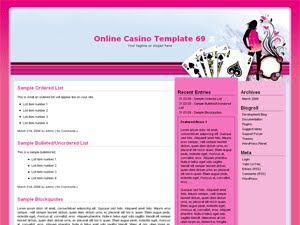 Online Casino Template 69