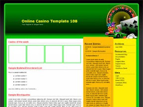 Online Casino Template 108