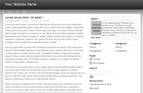 Freedom Black Widgetized Free Wordpress Theme