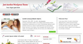 Free Wordpress Theme - Eco-light
