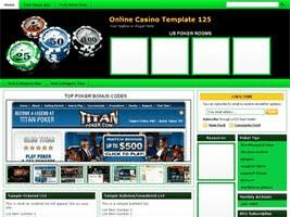 Online Casino Template 125
