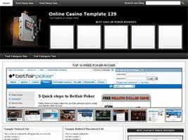 Online Casino Template 129