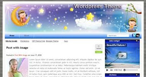 Free Wordpress Theme - KidsHeaven