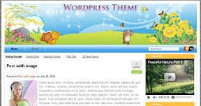 Free Wordpress Theme - ToonsPark