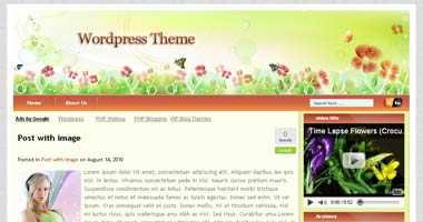 Free Wordpress Theme - ButterLust