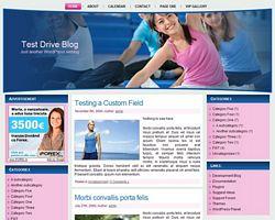 Fitness WordPress Theme Two