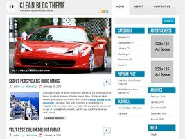 Clean Blog Theme