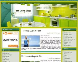 Kitchen WP Theme