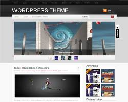 IpadStyle Magazine WordPress Theme