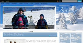 Free Wordpress Theme - Snowy