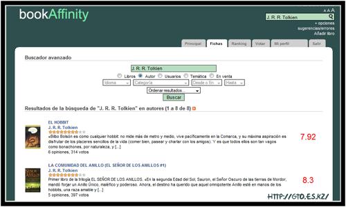 BookAffinity - Imagen Busqueda