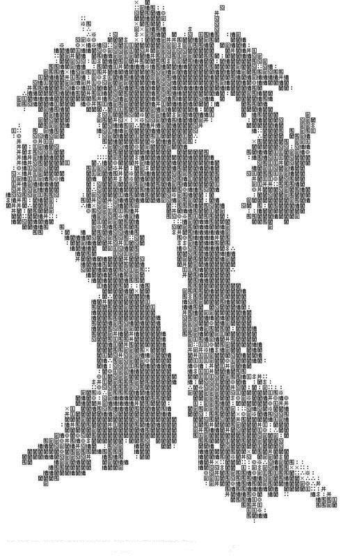 变形金刚字符版