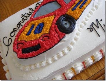 Michael Benham grad cake 2